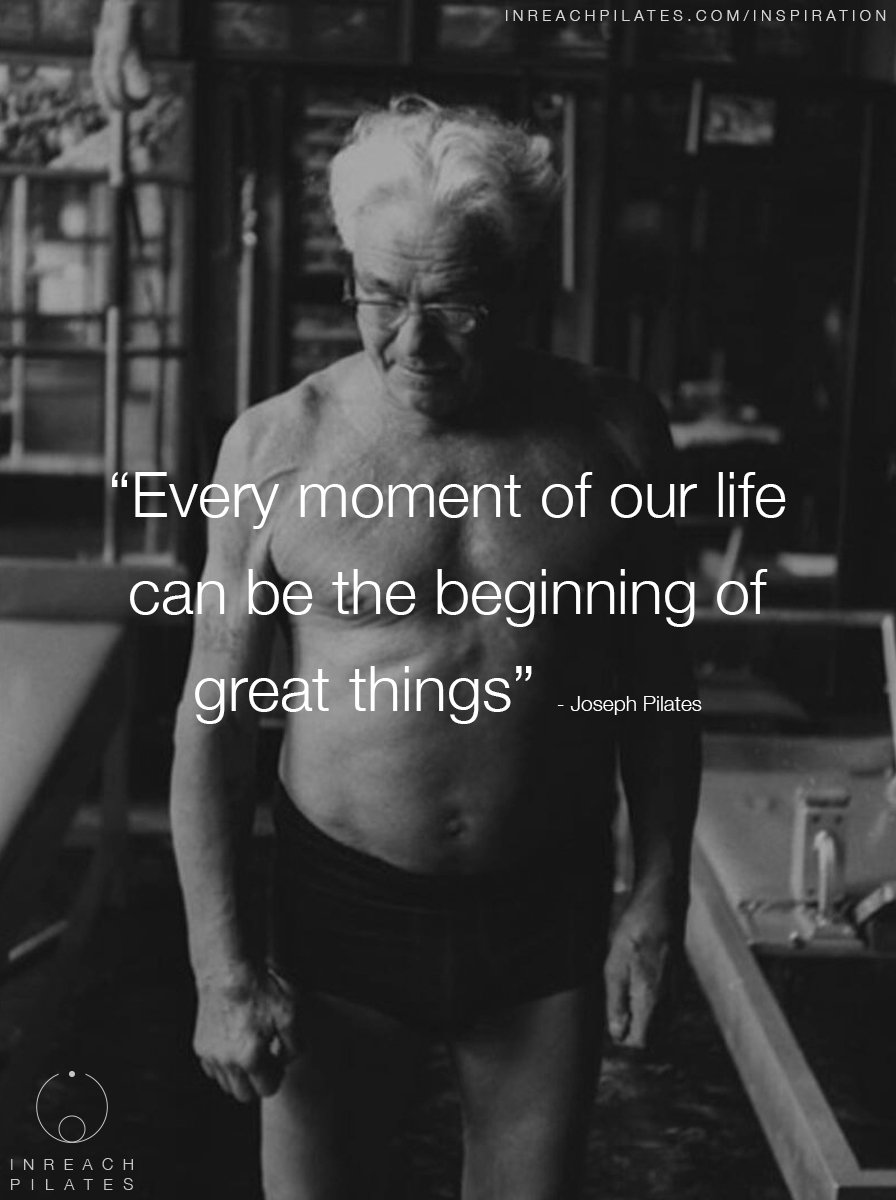 Every moment of our life can be the beginning of great things