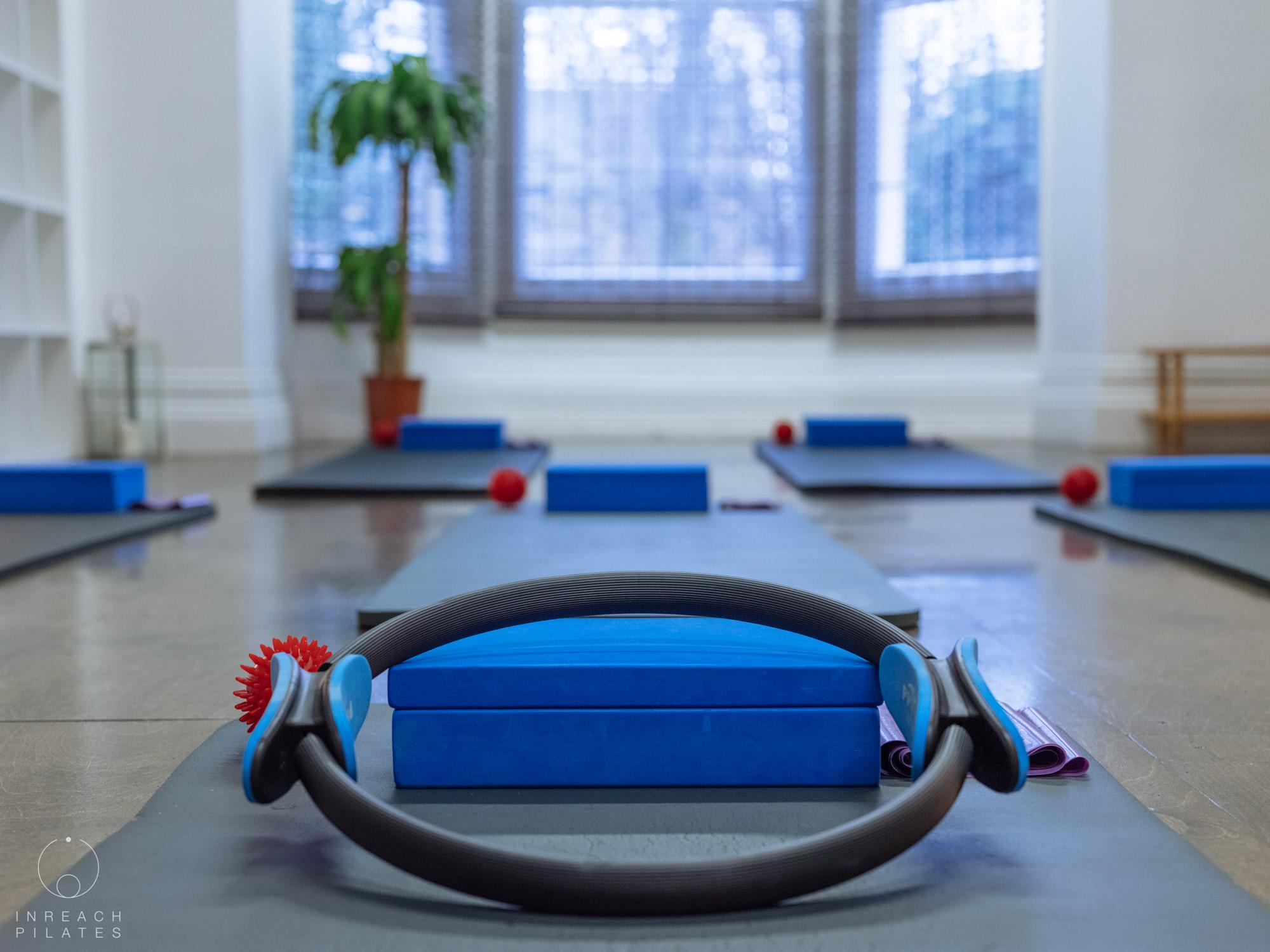 Magic circles in the pilates studio