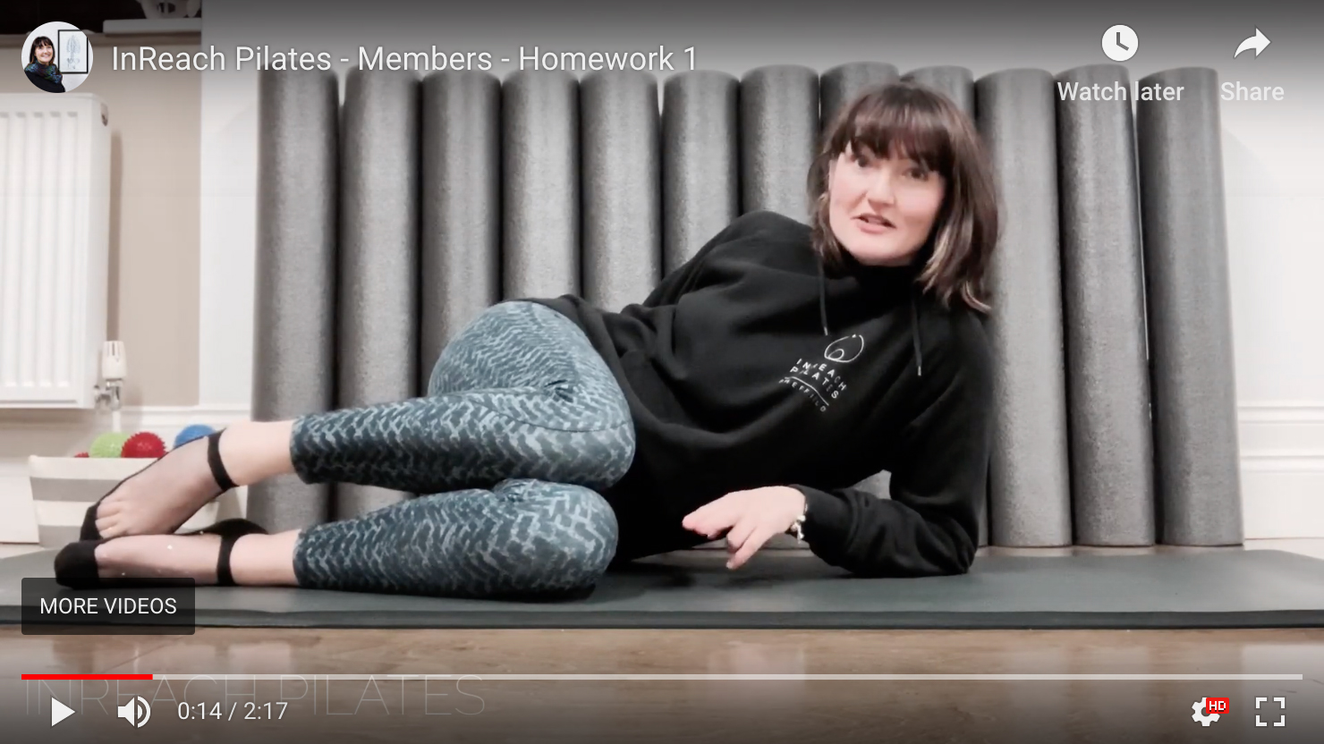 InReach Pilates - Video Class