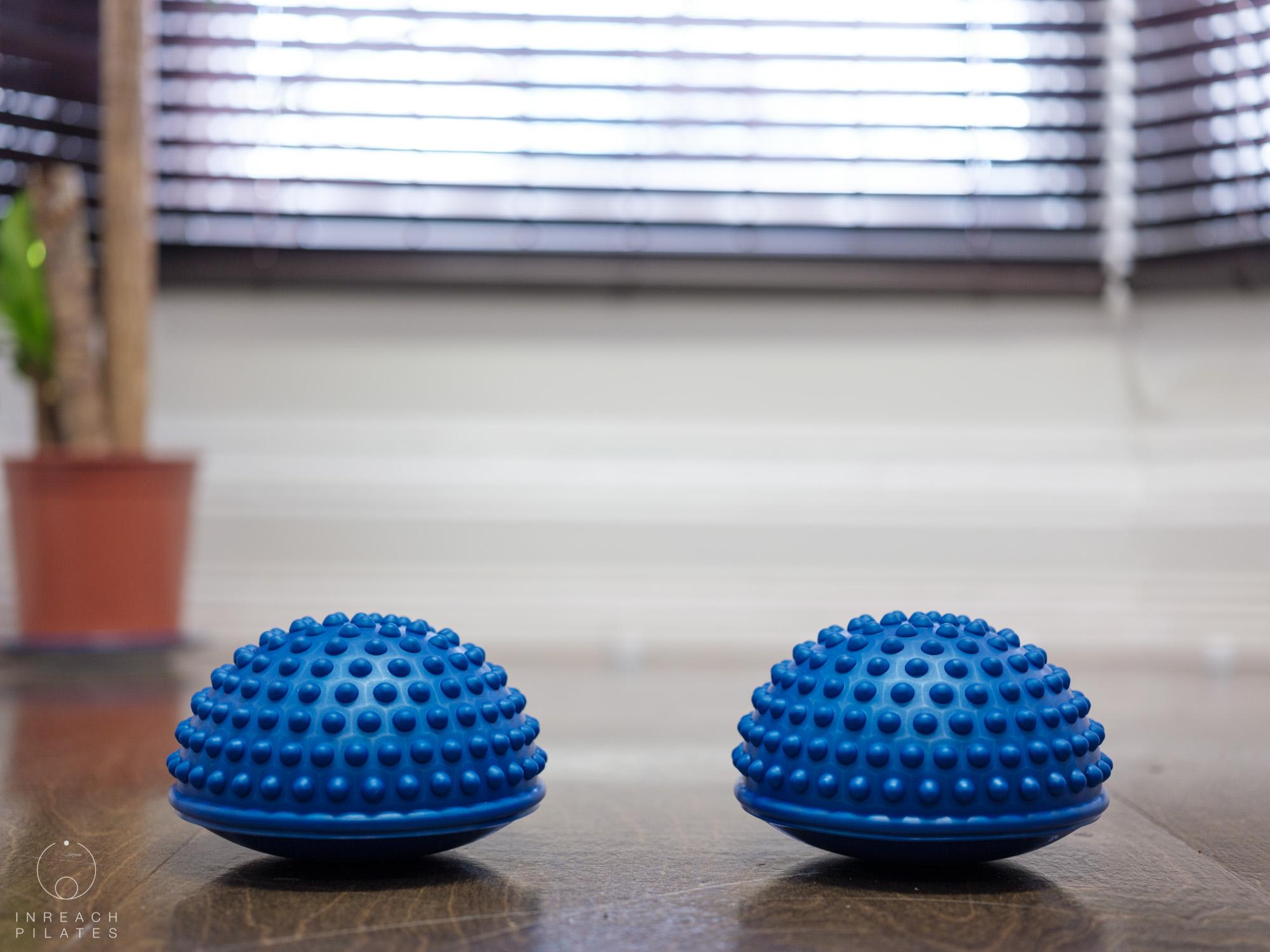 sheffield pilates studio - equipment - balance pods