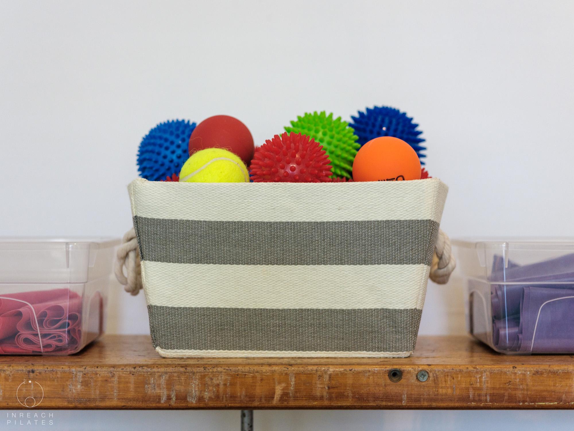 sheffield pilates studio - equipment - balls