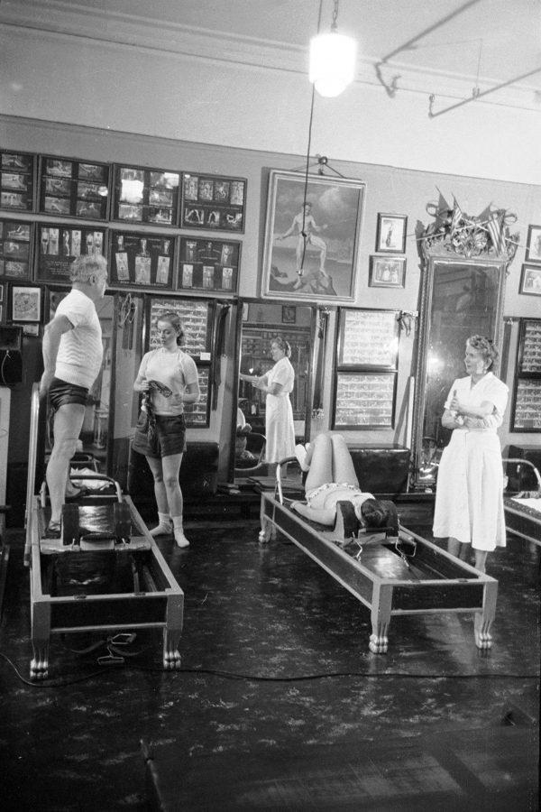 Joseph Pilates - History - Studio Shot