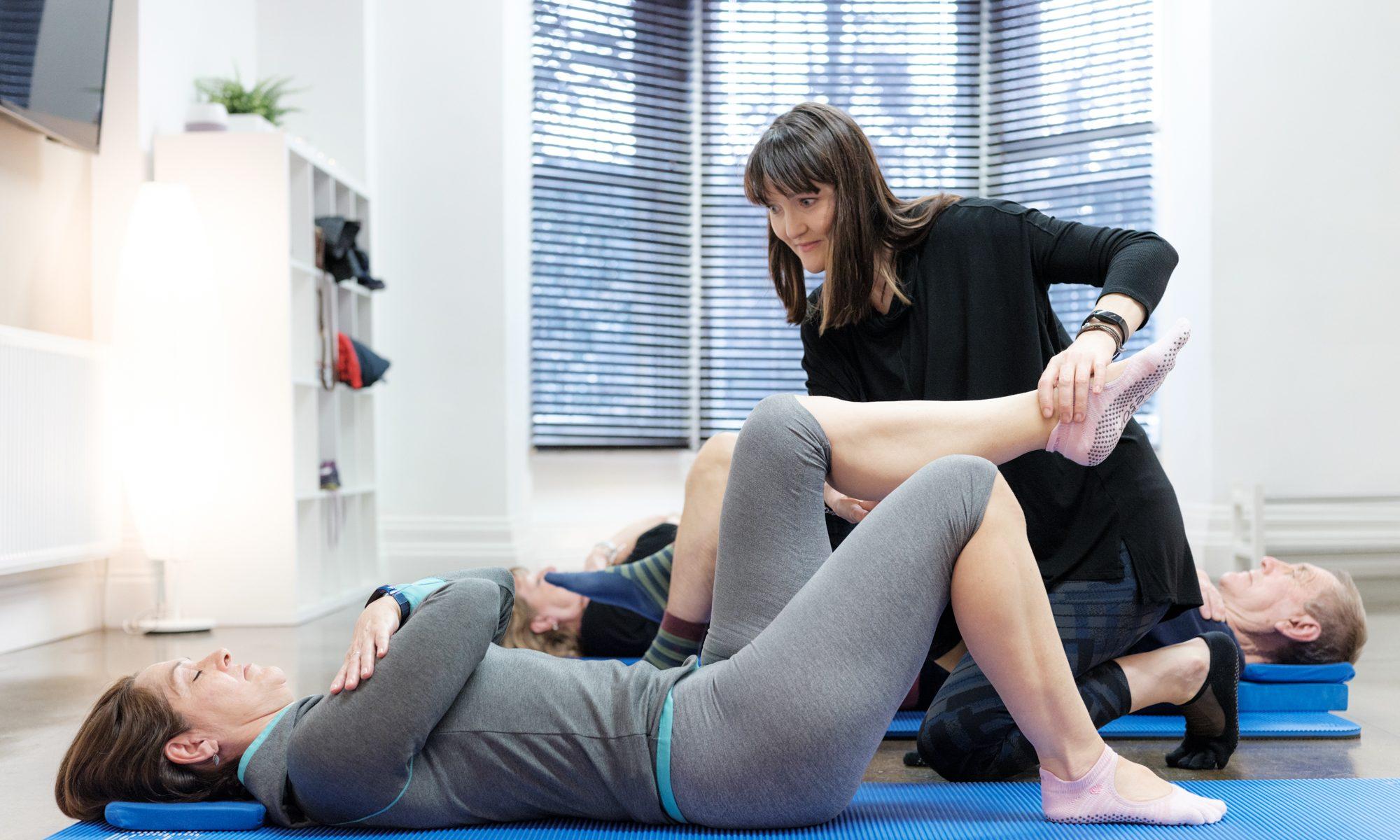 Pilates Sheffield Class
