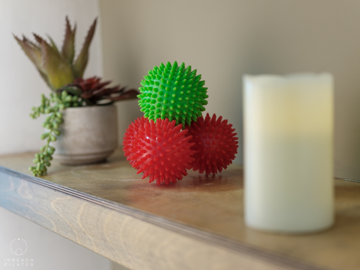Pilates Studio - Spikey Balls