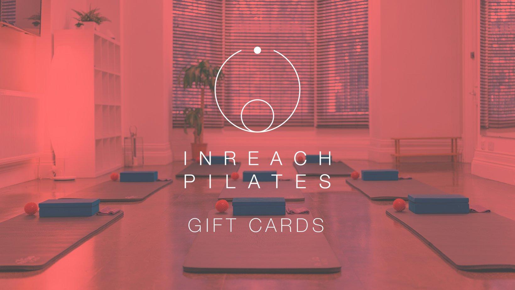 InReach Pilates Online - Gift Cards